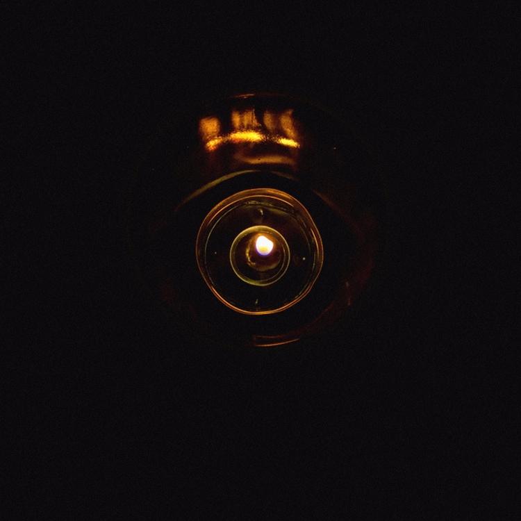 Golden View Candle, prt2 Eye - golden - mariyantod | ello