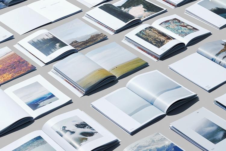 Book design Wayward Arts Magazi - northeastco | ello