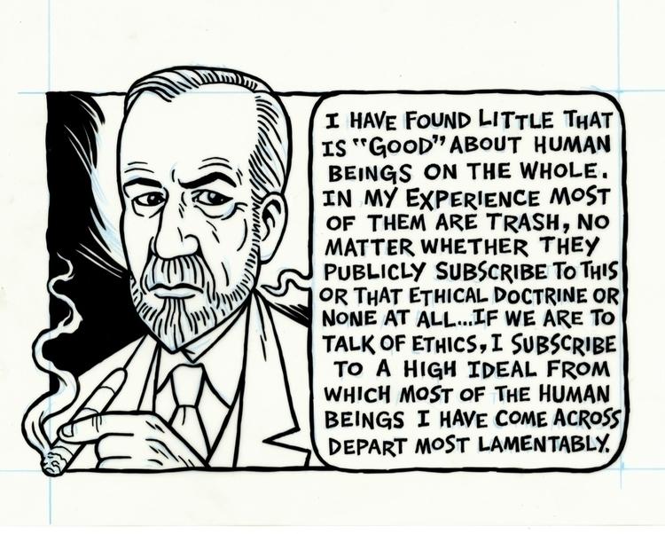 Sigmund Freud, illo BRUTARIAN,  - dannyhellman | ello