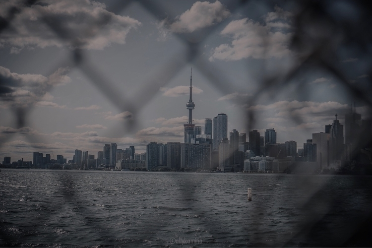 captured Toronto skyline - ello - allykamino | ello