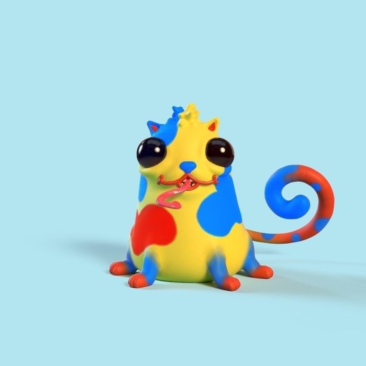JOY CryptoKitty Kitty • Gen 1 S - joy | ello