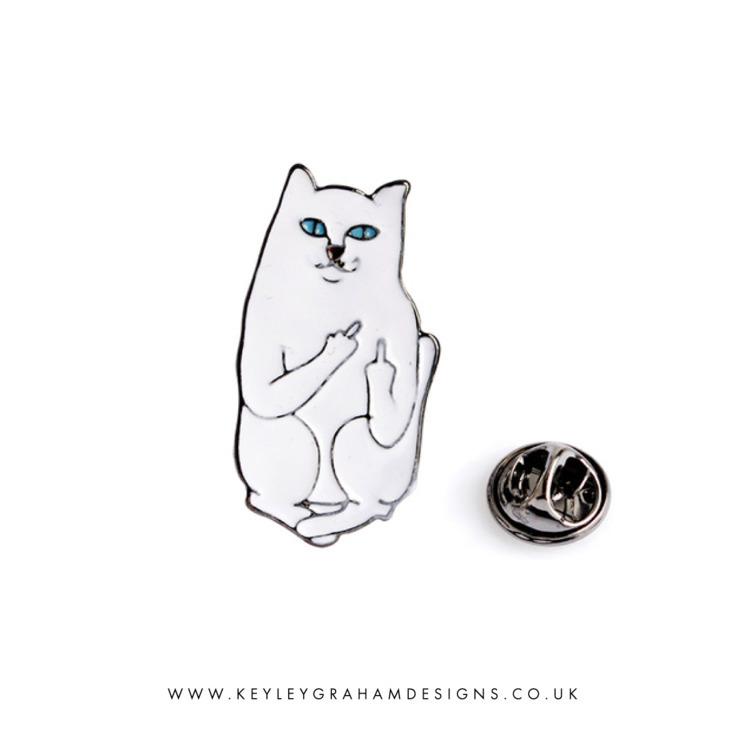 Cat Pin Keyley Graham Designs - keyleygrahamdesigns | ello
