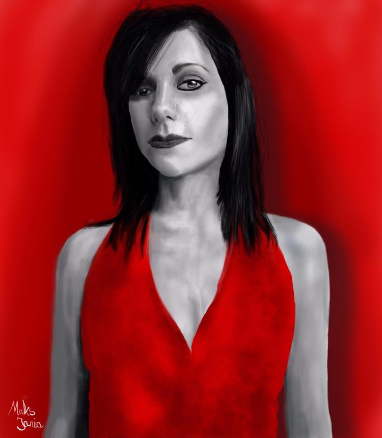 PJ Harvey - illustration, digitalart - maksmj | ello