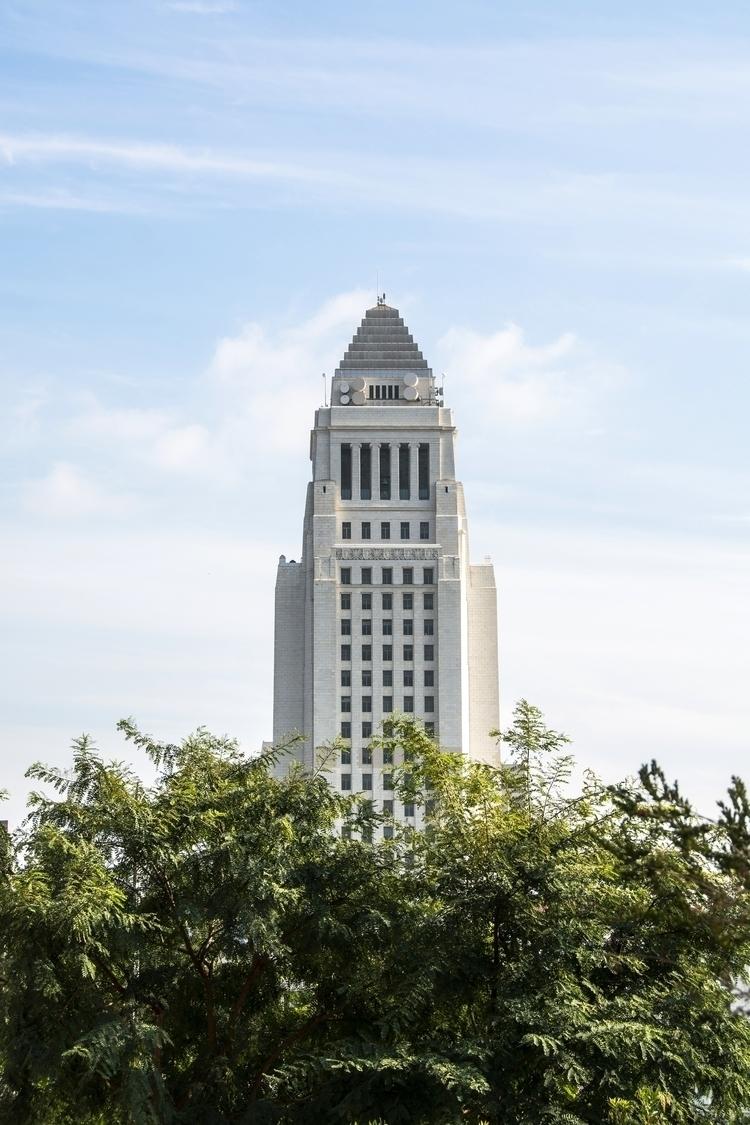 Los Angeles City Hall   Angeles - sentient-simian   ello