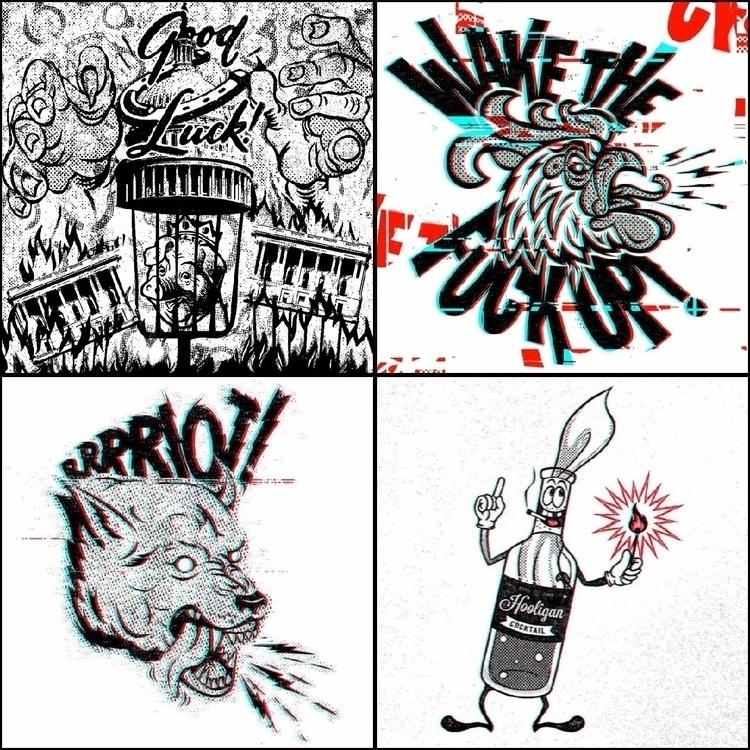 FCKD VNTLTR - Idiocracy, Trump, Resistance - an-ism | ello