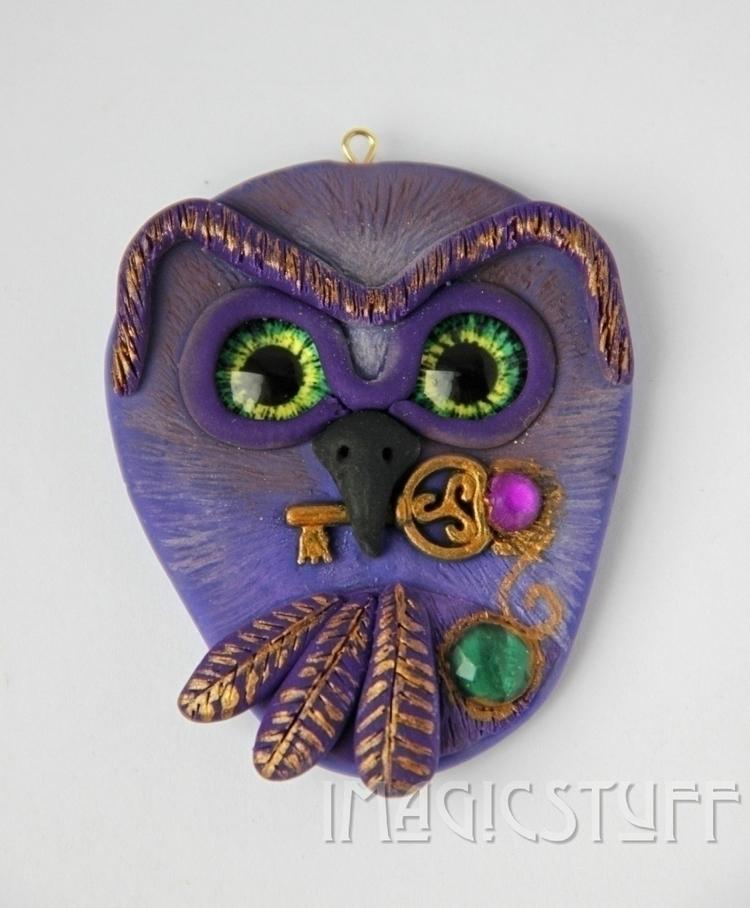 Magic Owl Pendant.🦉:sparkles - magic - i_magicstuff | ello