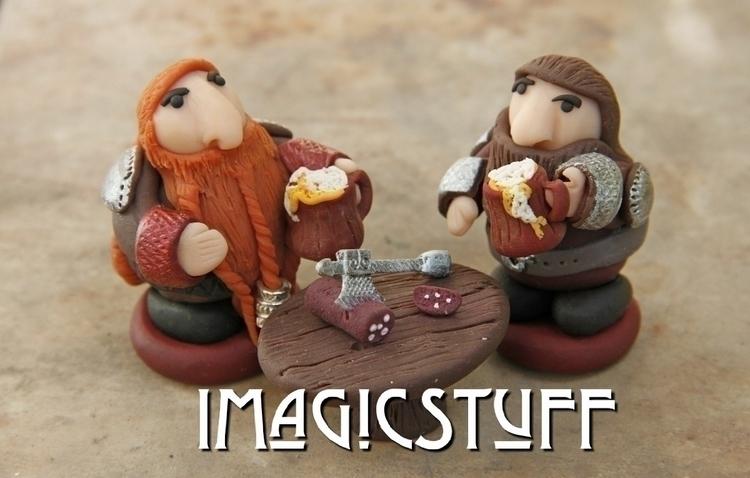 Cheers!:beers - dwarf, dwarves, brutal - i_magicstuff | ello