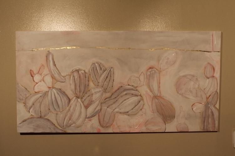 Painting WIP. life - painting, plant - meatballvizzy | ello