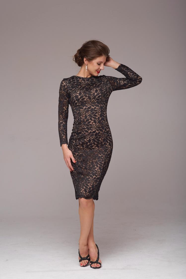Кружевное платье-футляр. Италья - ola_rus | ello