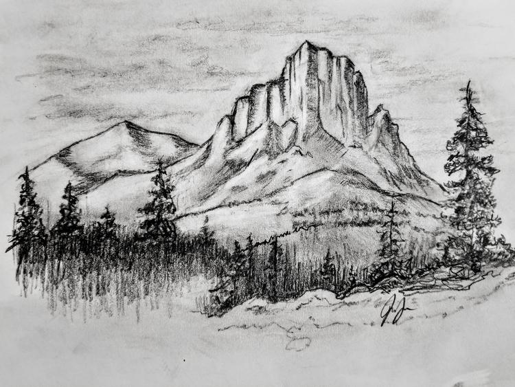 pencildrawing, nature - jasper4 | ello