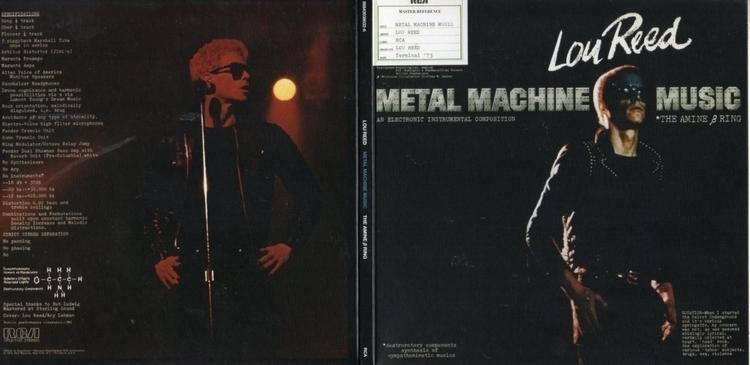 Metal Machine Music - music, LouReed - valosalo | ello