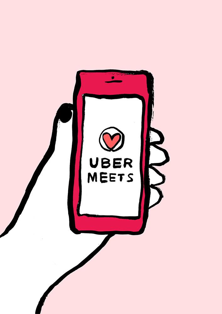futur - illustration, uber - anotherangelo | ello