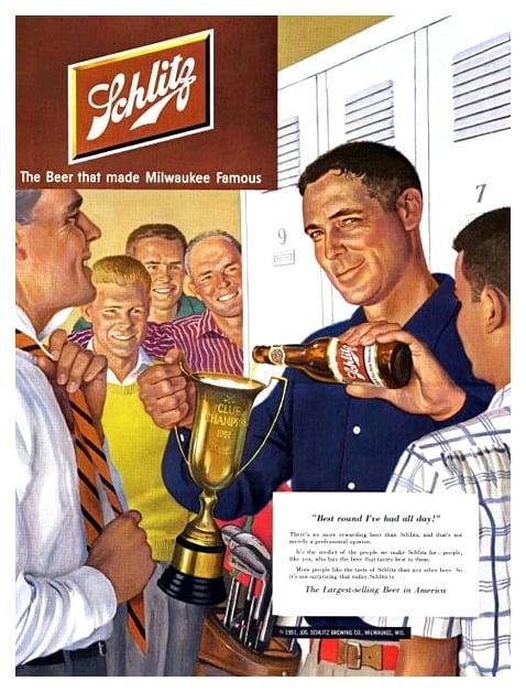 VintageAd, Schlitz, GAY - robogiggles | ello