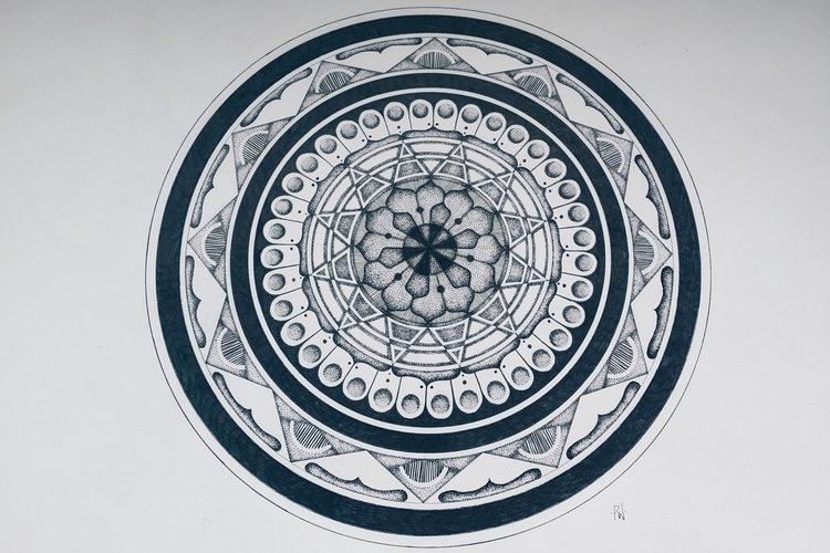 Cosmic Portal Mandala Polia Wac - polia | ello