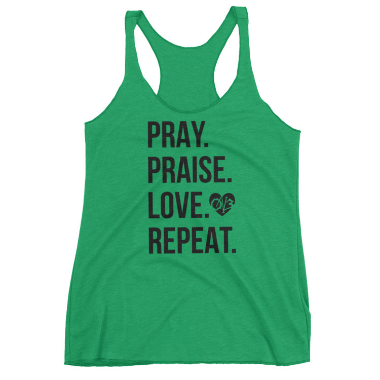 Pray. Praise. Love. Repeat Coll - on3_clothing | ello