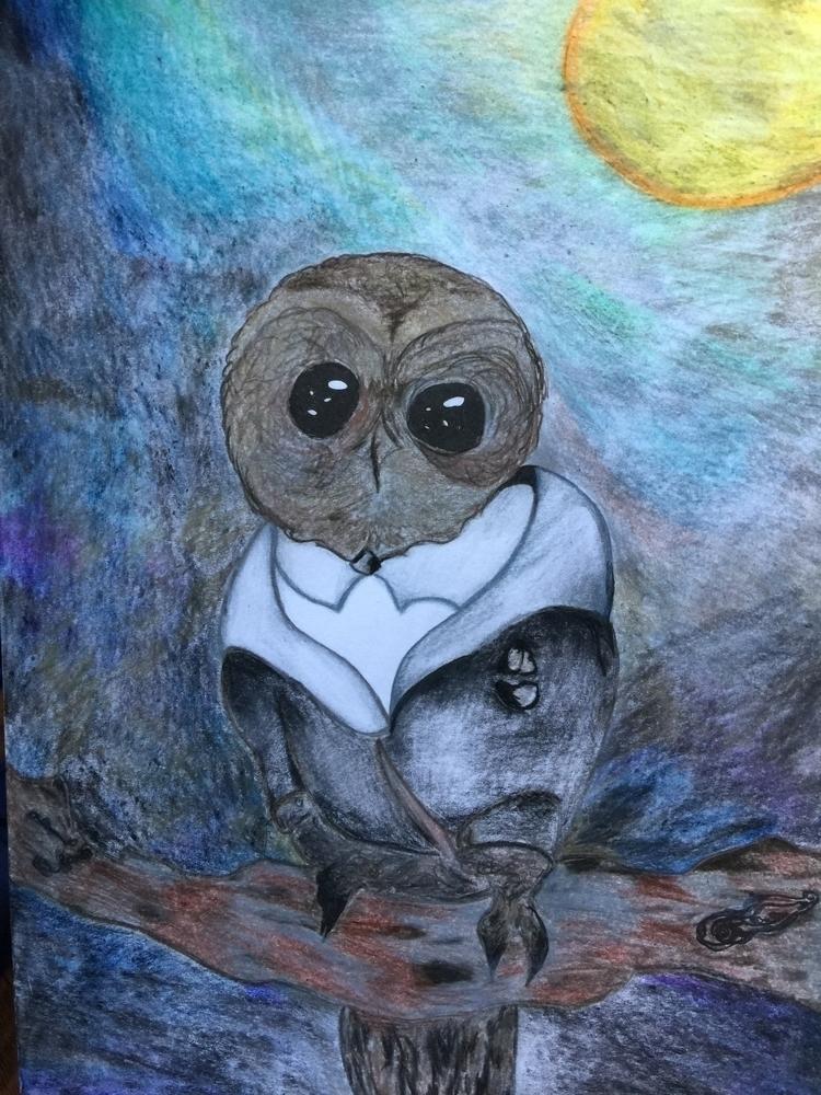 wise owl lived oak spoke heard - lowyn | ello