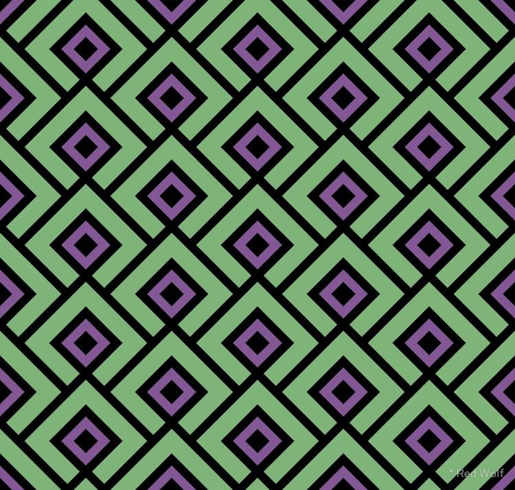 Geometric Pattern: Layered Diam - red_wolf | ello