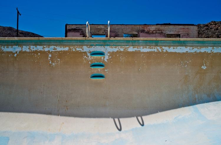 empty pool, Trona, California - frankfosterphotography   ello