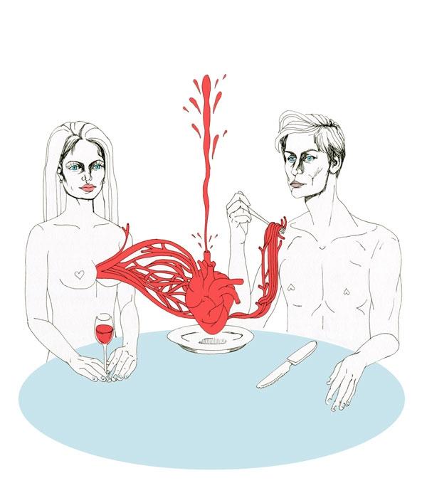 drawings mirror absurdity heter - vanniapalacio   ello
