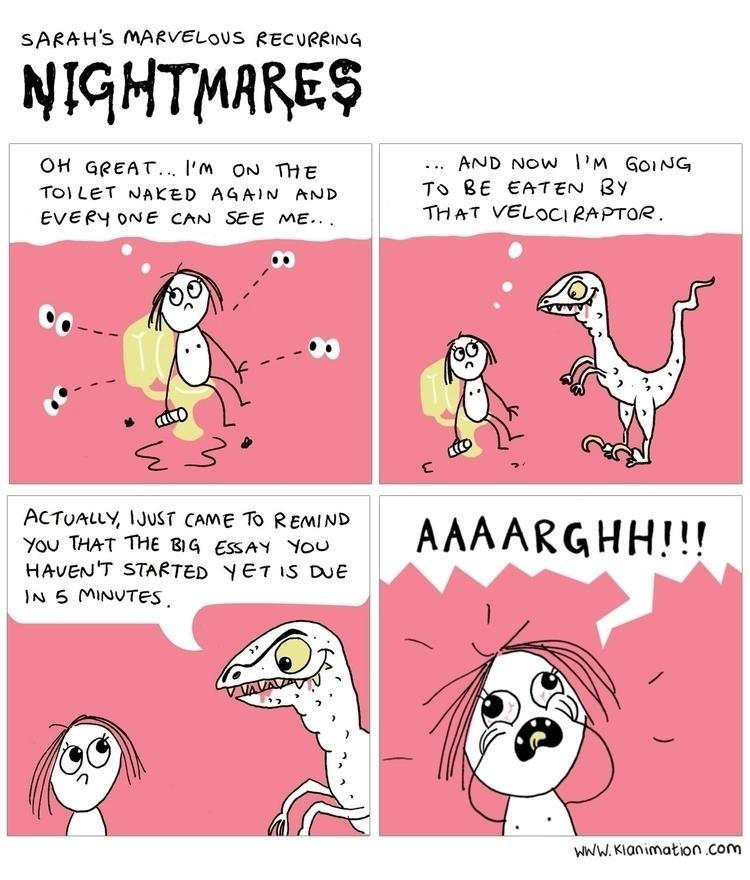 Nightmares, comic, cute, nude - klanimation | ello