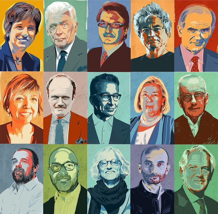 15 portraits 2017 Il Sole 24 Or - canuivan | ello