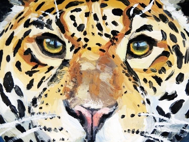 'Visions Jaguar People' detail - bluestarseed | ello