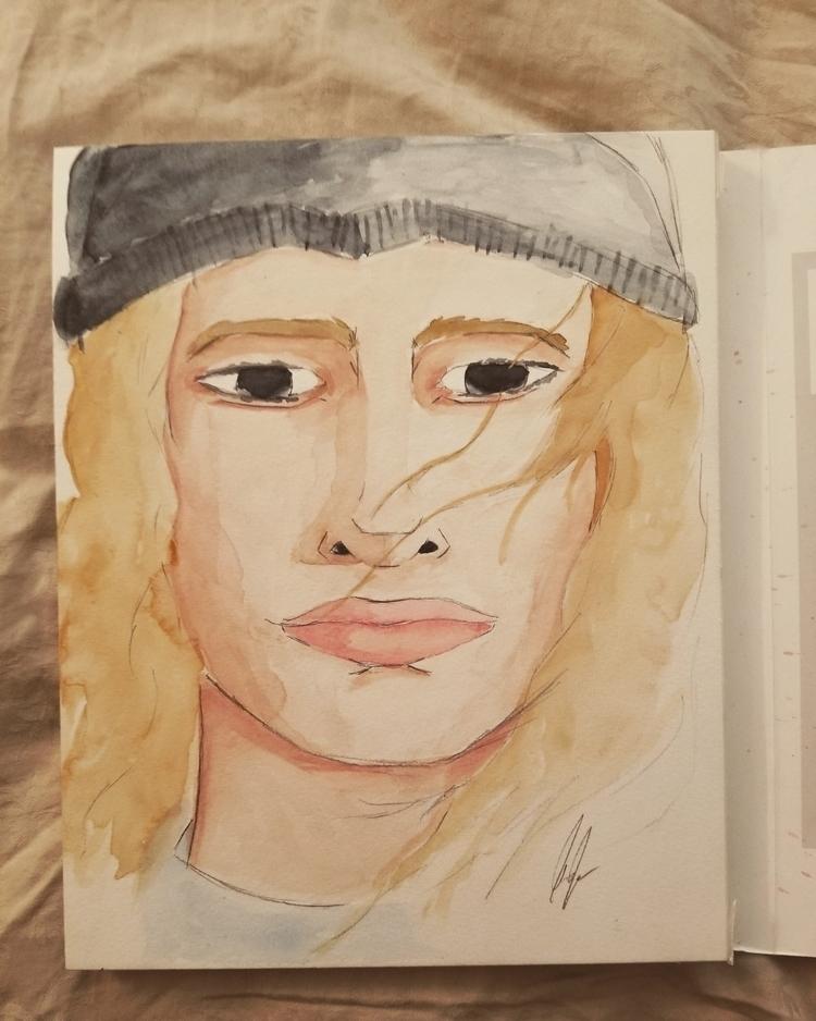 watercolor, painting, watercolorpainting - jasper4 | ello
