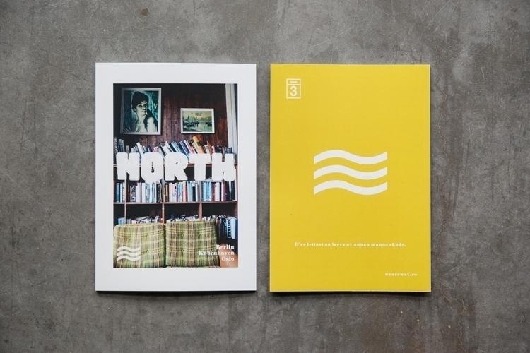 Waves Issue 3 // North. trip Be - wunderwerkz | ello