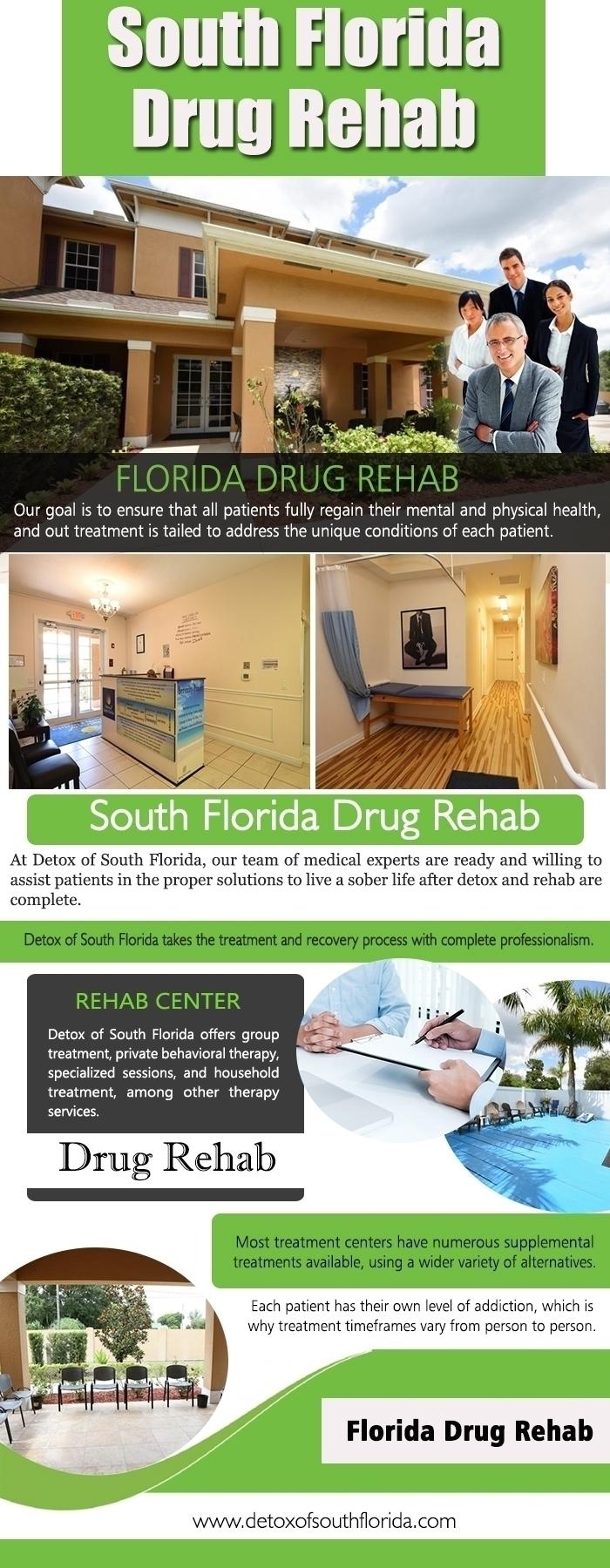 Florida Detox centers Website:  - detoxofsouthflorid | ello