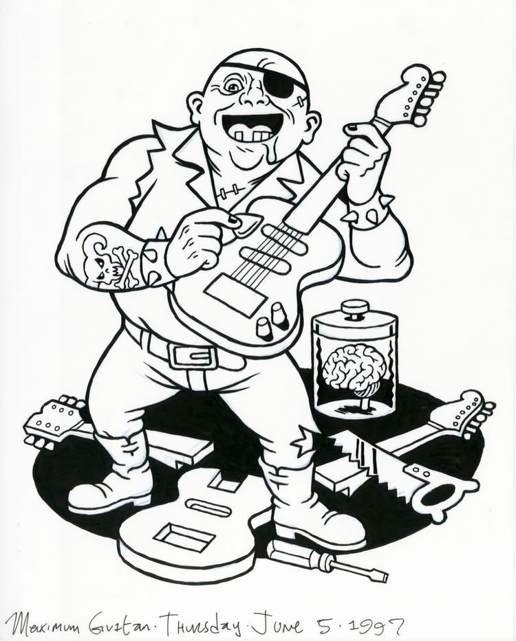 Igor Guitar, illo Maximum 6/5/9 - dannyhellman | ello