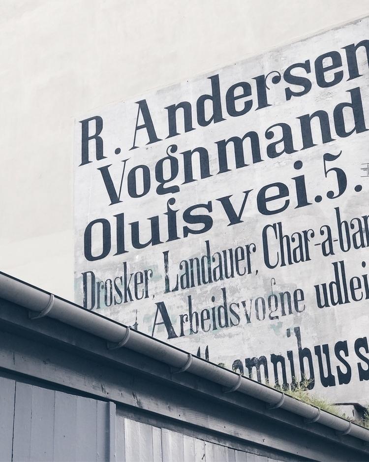 copenhagen, denmark, typography - stenbaek | ello