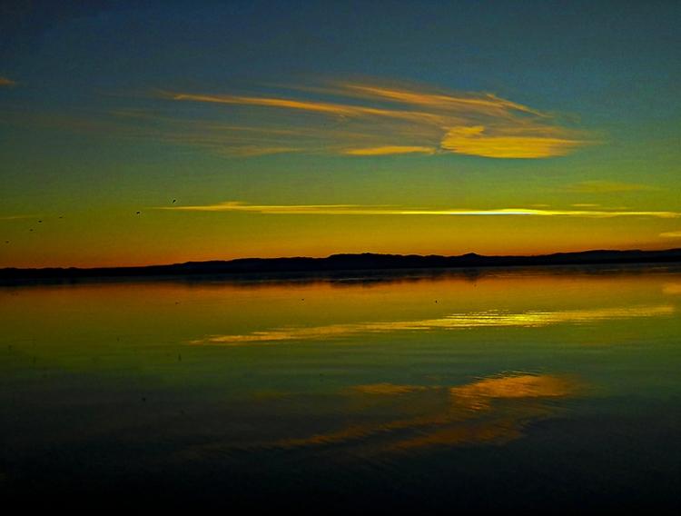 sunset, Salton Sea, California - frankfosterphotography | ello