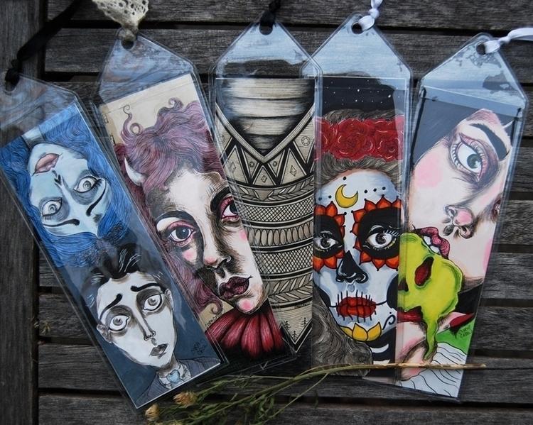 Handmade bookmarks featuring ar - coracrow | ello