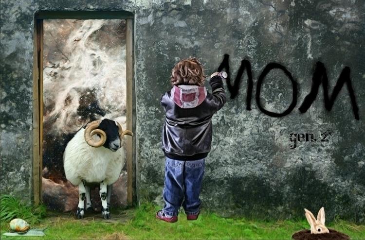 MOM. Link Shop - mom, mother, kids - gen_z   ello
