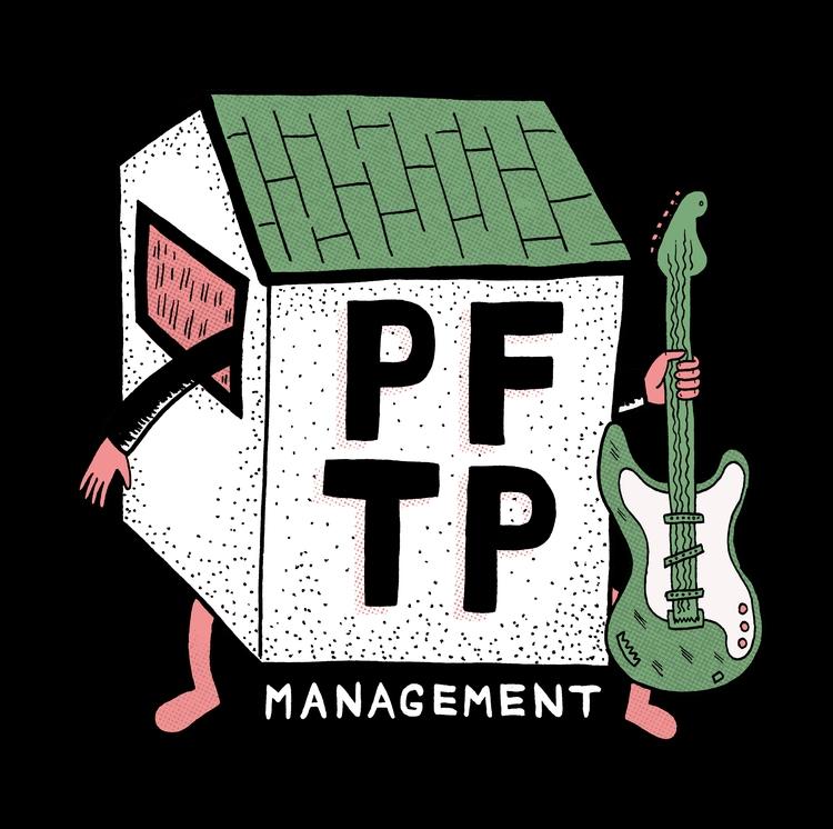 Illustrated logo design PFTP Ba - tony_jayco | ello
