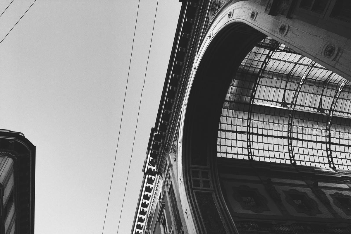 Galleria Vittorio Emanuele II - bw - guido_chiabrera | ello