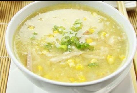 Creamy Corn Chicken Soup - Recipes - recipesbysara | ello