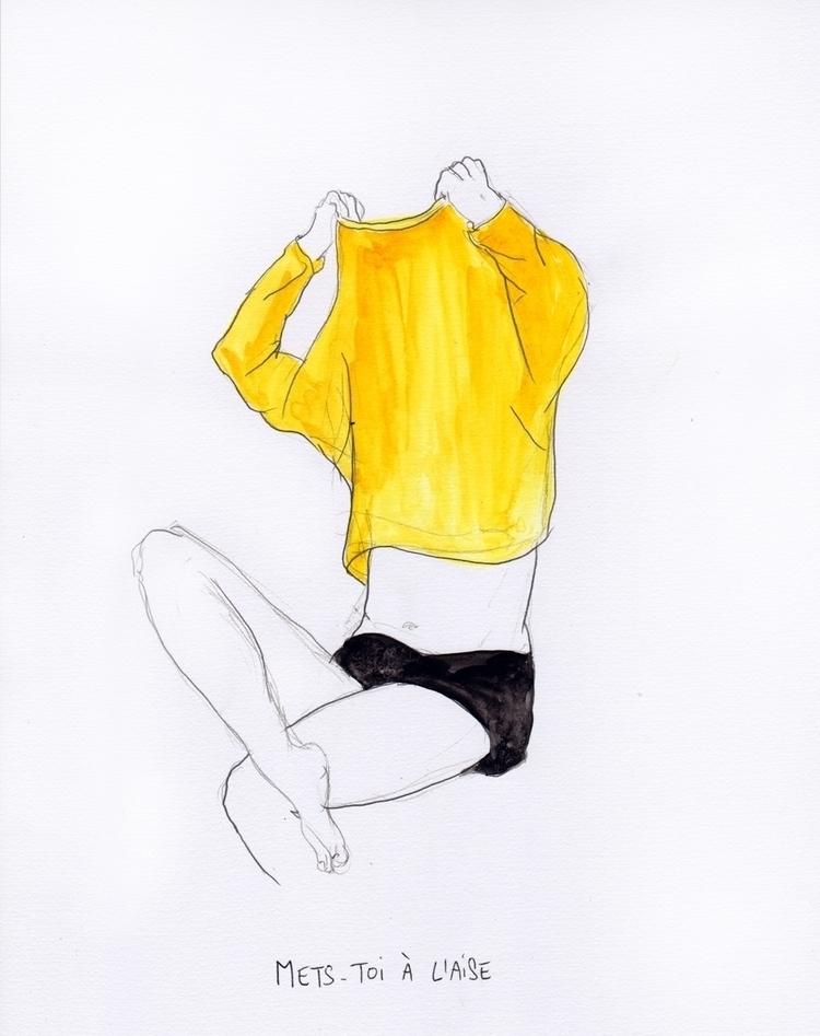 dessins, illustration, drawingart - magaliseghetto | ello