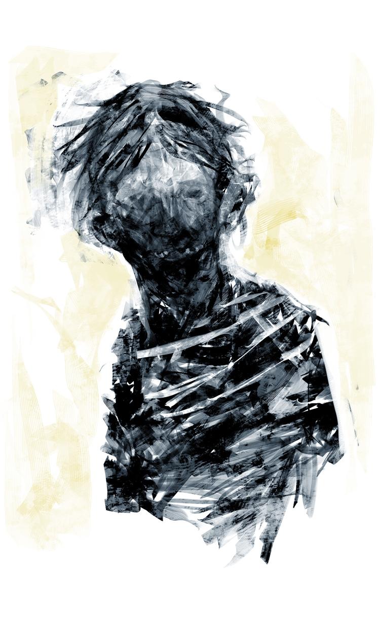 Niño Sketch digital (2016 - niño - jonasgomes | ello