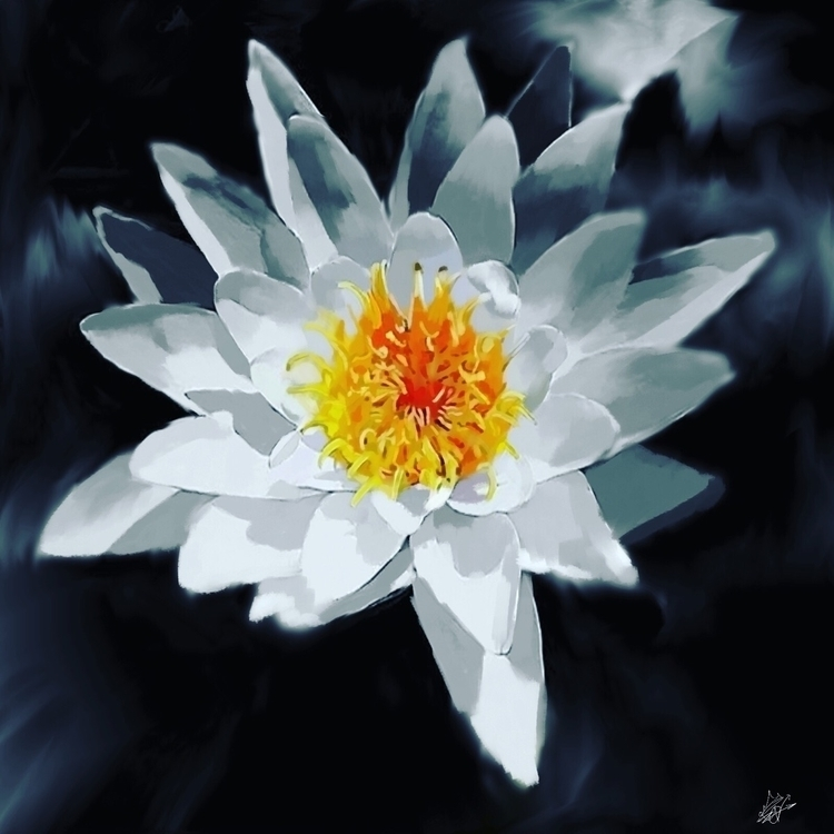 flower. Krita intuous pro - ronnink | ello