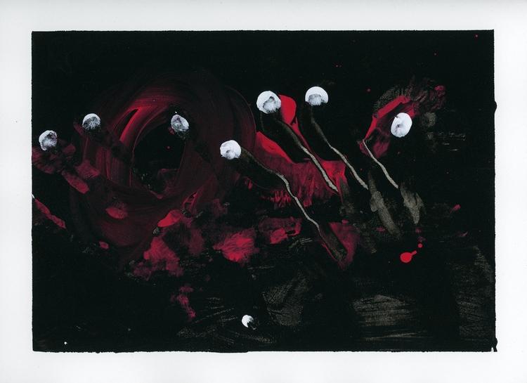 Angst - AcrylicOnPaper, 2017 - looktran | ello