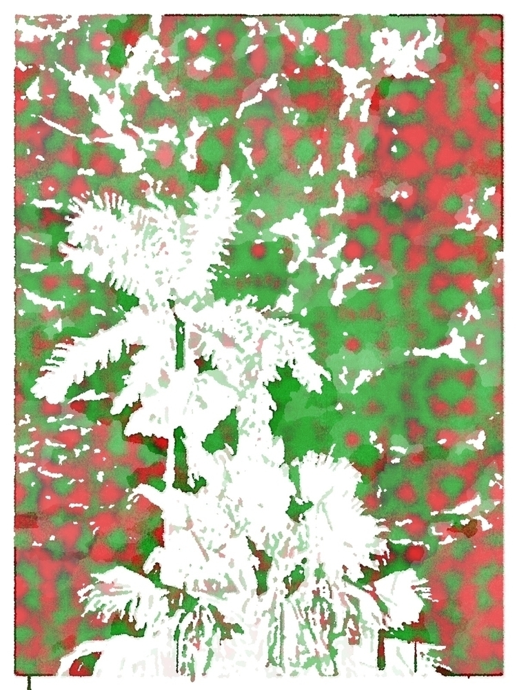 Christmas Palm Trees Colors App - mikefl99 | ello