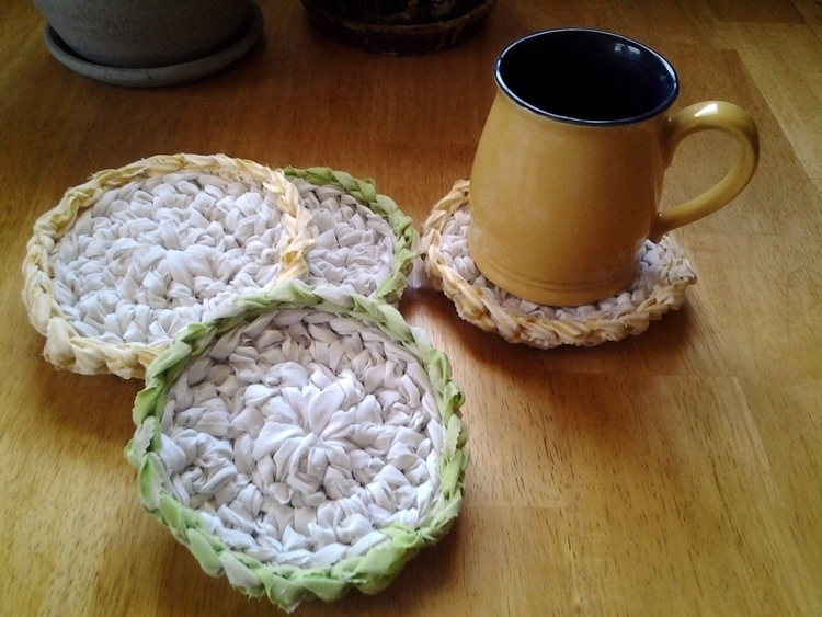 SOLD...4 Handmade Crochet Rag C - maryherrigfiberarts | ello