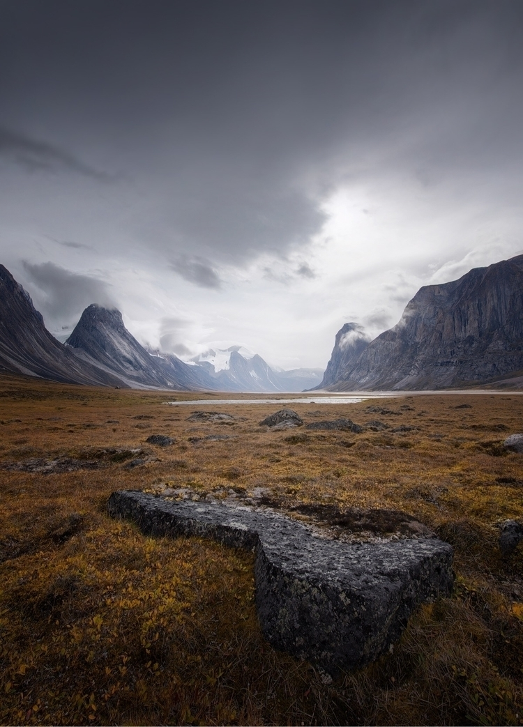 Baffin Island Landscape, humans - skyfolk | ello