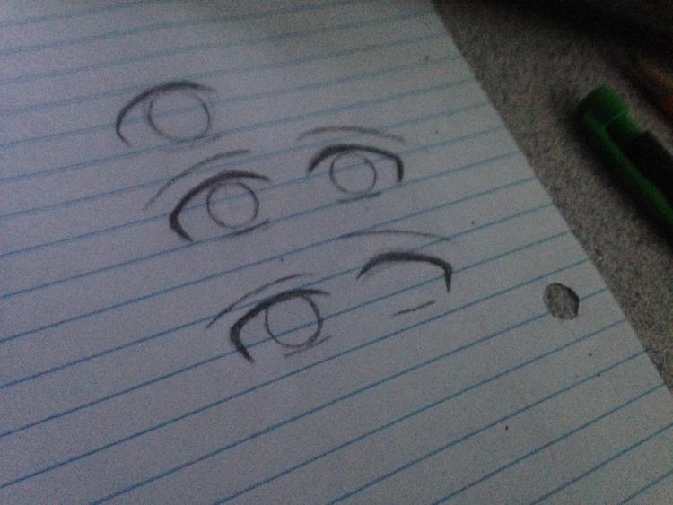 sap_one Practicing eyes. turned - sheldon_andre | ello