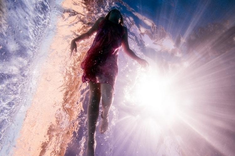 swimming caribbeans robin cerut - robincerutti | ello