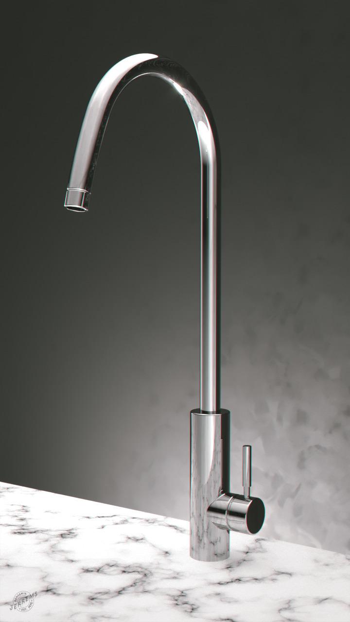 'Faucet'  - 3d, cgi, coronarender - bengaminjerrems | ello