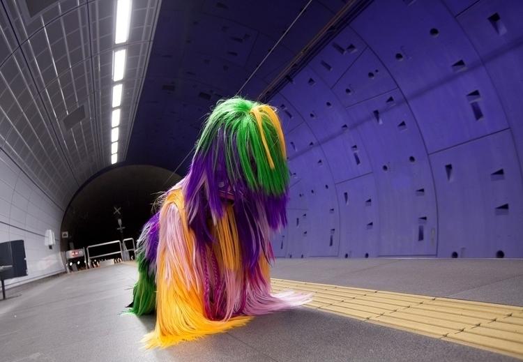 Monster Underground. Hairry. Co - die_sasha | ello