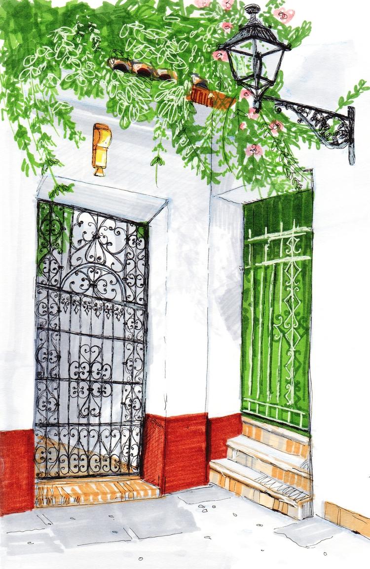 'Places Seville 1' Alcohol mark - heylava | ello