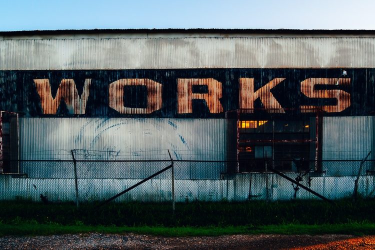 Works Signage industrial buildi - mattgharvey | ello